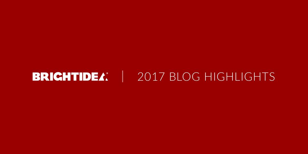 2017 Highlights from the Brightidea Blog