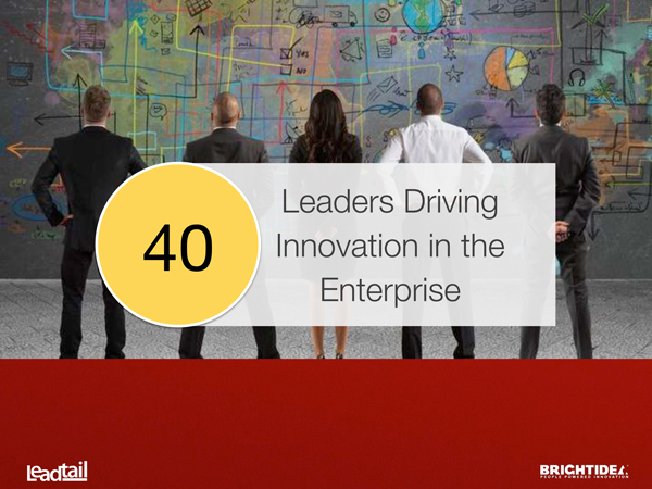 New Study: Who's Driving Innovation at the Enterprise?