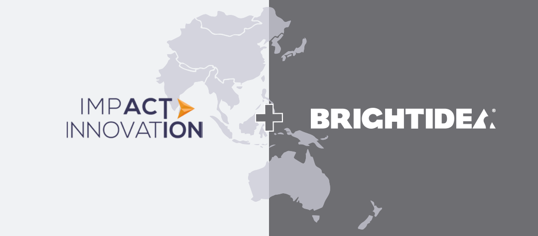 Brightidea expands APAC footprint with regional partner Impact Innovation Group