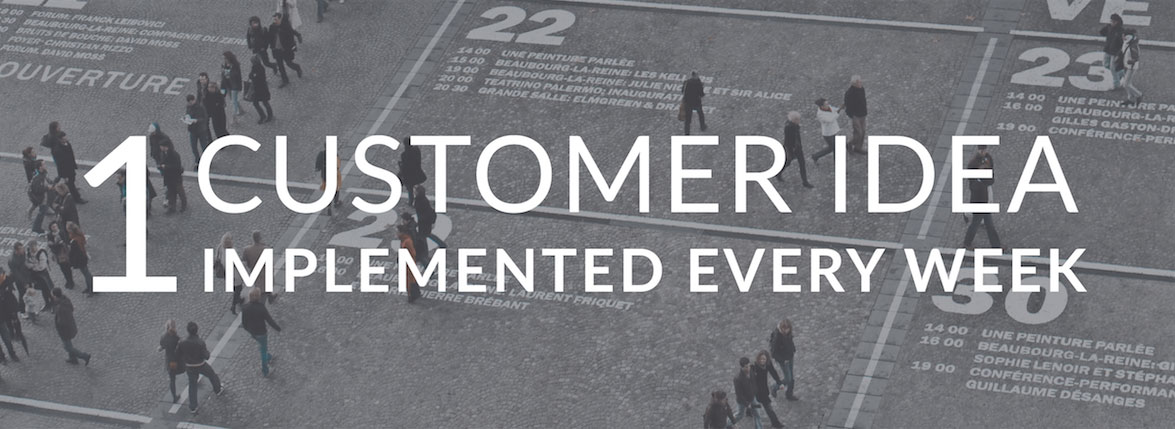 Brightidea 1 Customer Idea Per Week Implemented