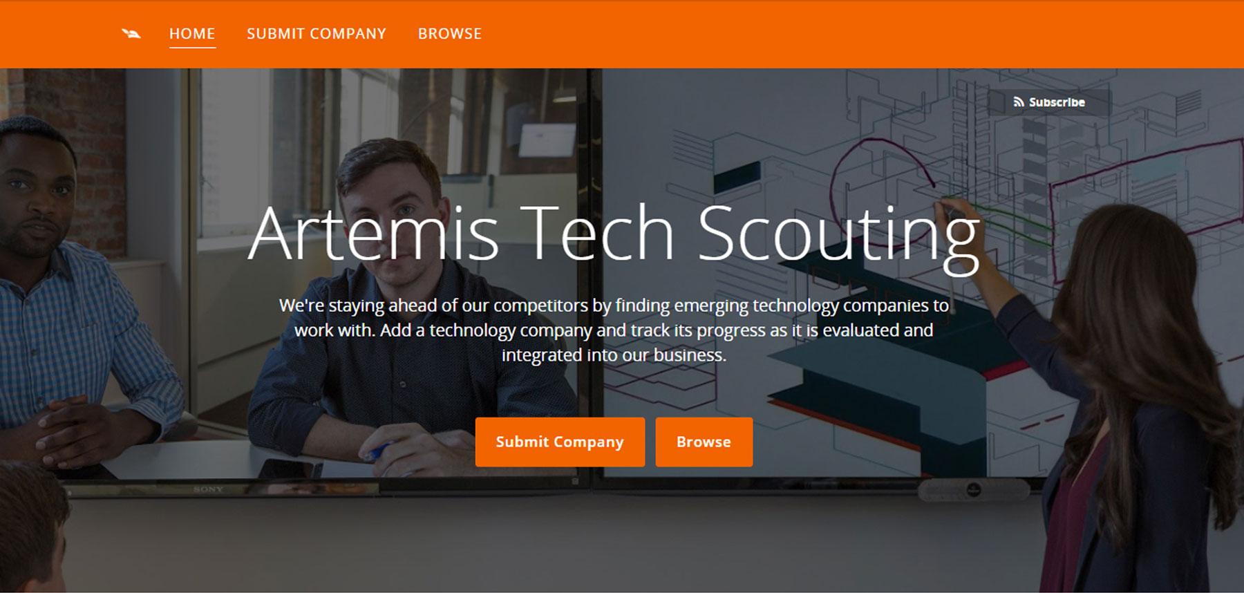 Brightidea Scout Homepage