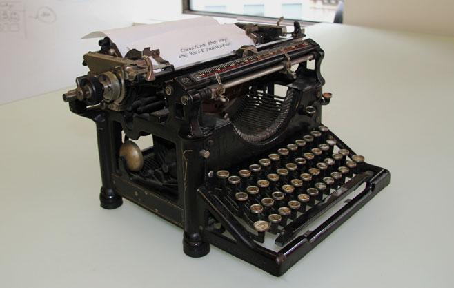 Brightidea Typewriter