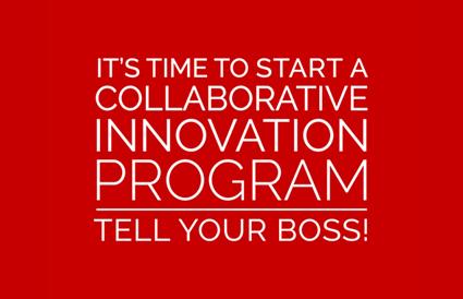 It's Time to Start a Innovation Program