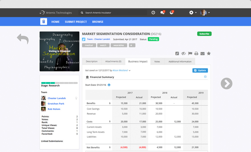 Consult - Impact Tracking
