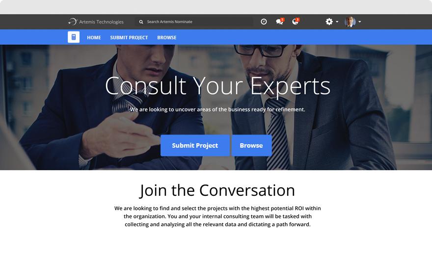 Consult - Microsite