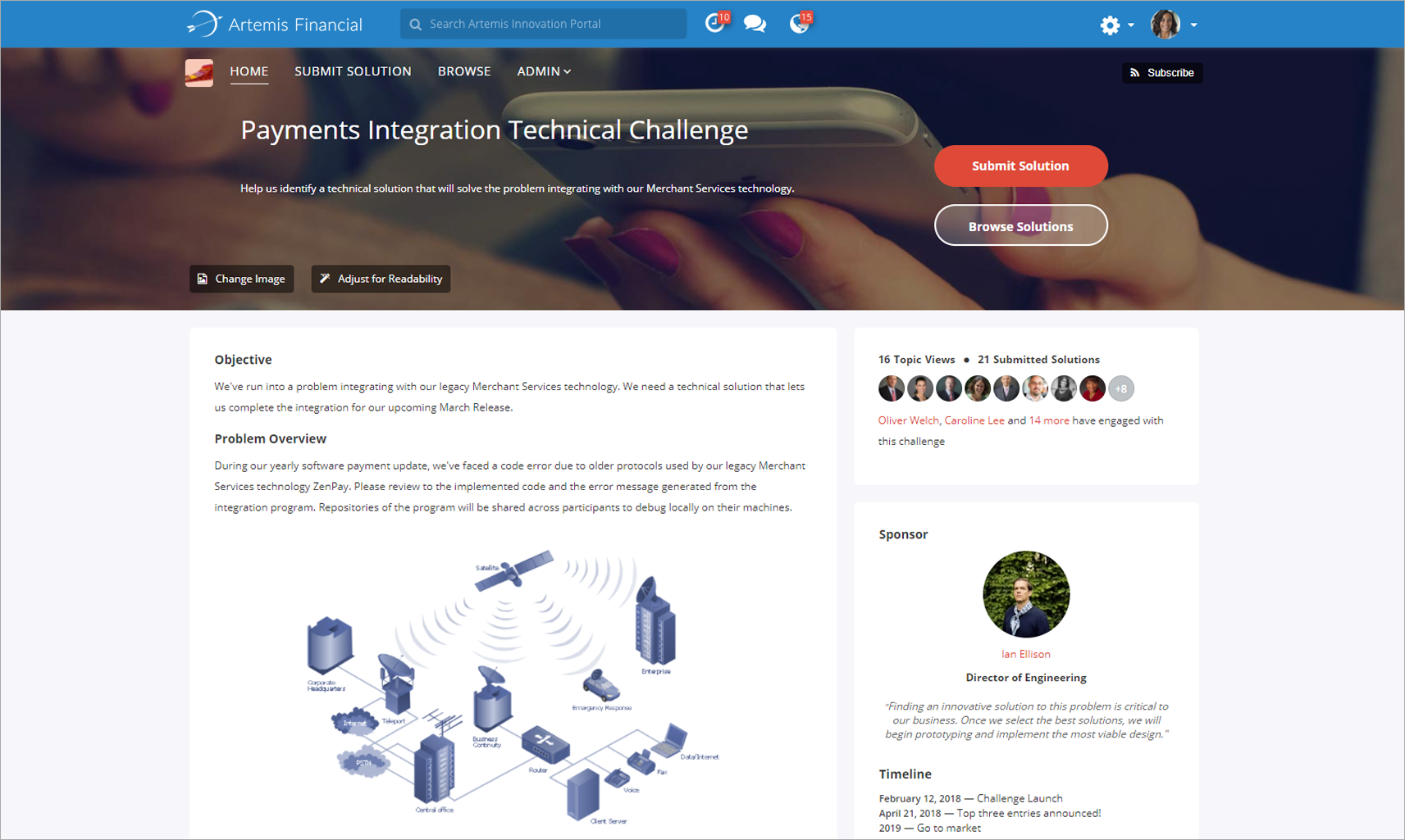 Platform Challenge Page Programs