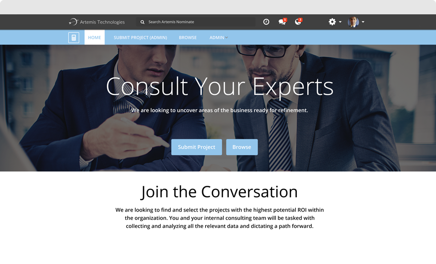 Consult Project Website
