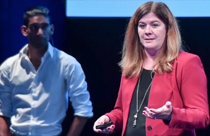 Stephanie Hammes-Betti and Russ Gowda of U.S. Bank | Synthesize 2017