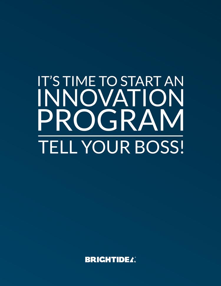 Time to Start An Innovation Program