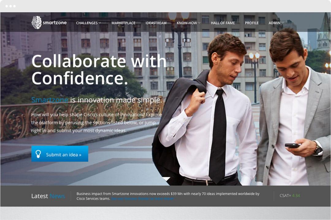 Brightidea and Cisco Collaborate with Confidence