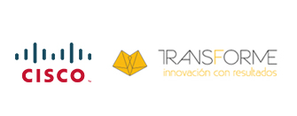 Cisco and Transforme Logos - ROII
