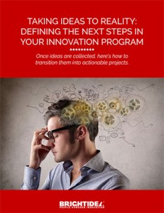 Taking Ideas to Reality: Defining the Next Steps in Your Innovation Program Cover