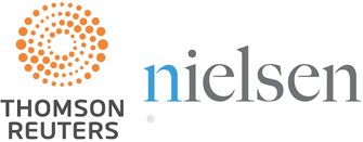 Thomson Reuters and Nielsen Logos