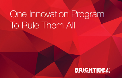 One Innovation Program To Rule Them All