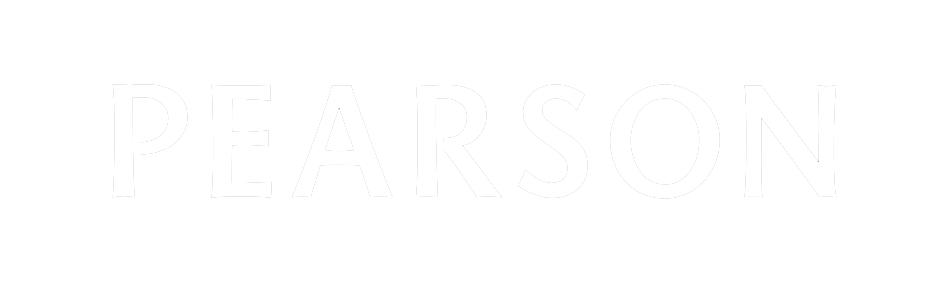 Pearson Logo White